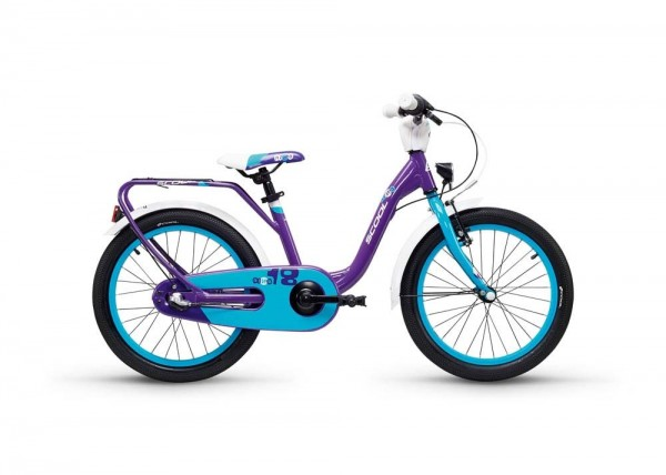 S´COOL niXe street 18 alloy 3-speed violet/blue