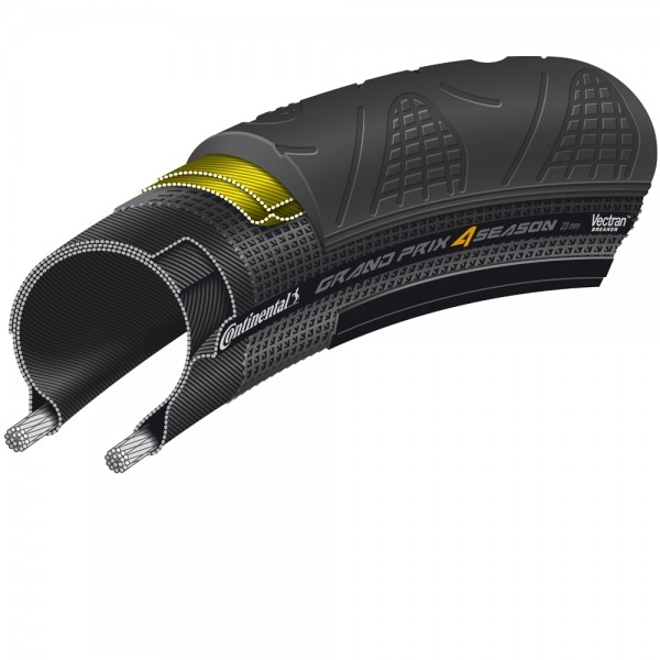 Continental GRAND PRIX 4-Season 25-622 DuraSkin faltbar Black Edition