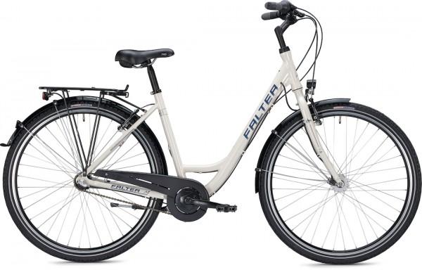 """Falter City / Urbanbike C 2.0 28 """"glossy cream"""