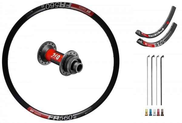 "DT Swiss 240 EXP Disc CL Custom Vorderrad MTB 26"""