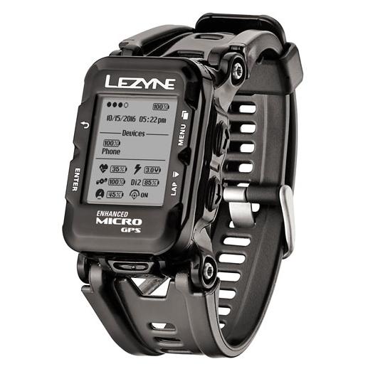 Lezyne Micro GPS Watch incl. HR black