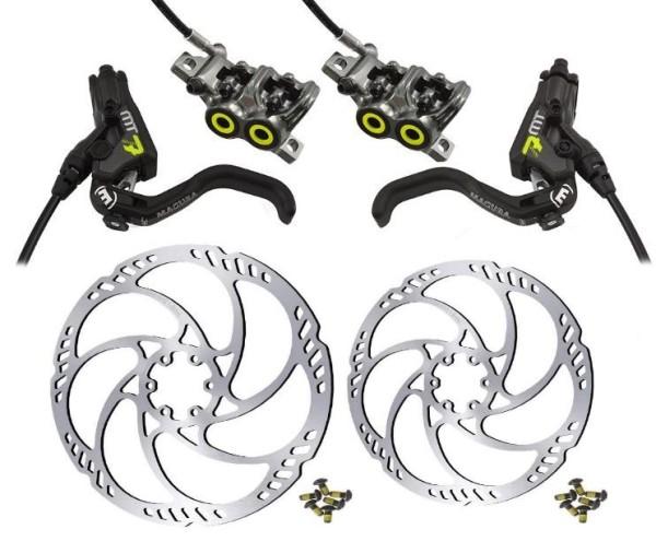 Magura MT7 HC Pro Disc Brake-Set incl. Rotor Storm and Adaptor