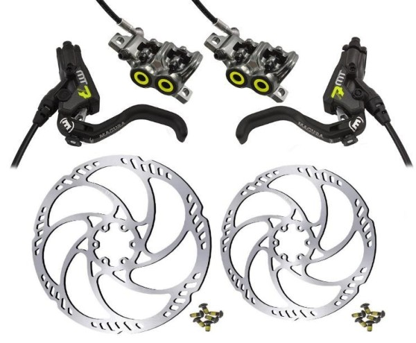 Magura MT7 HC Pro Disc Brake-Set incl. Rotor Storm and Adaptor