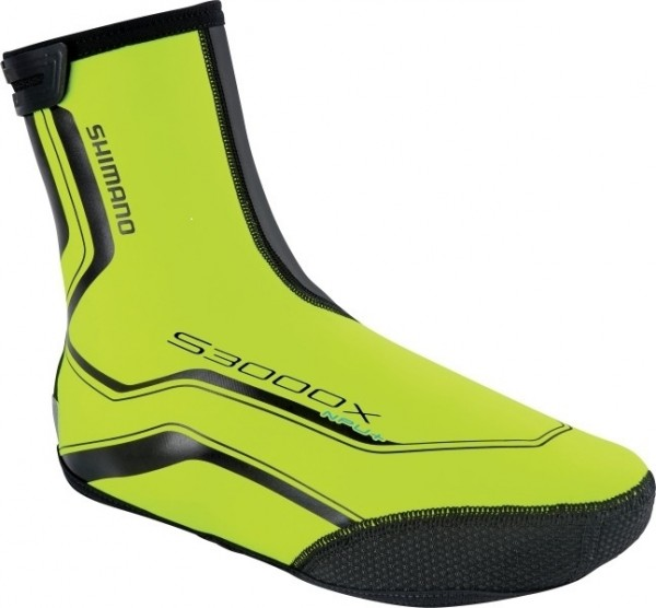 Shimano Trail NPU+ Shoe Cover neon yellow