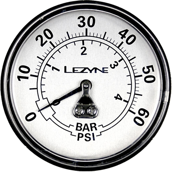 "Lezyne Manometer (60psi) 2,5"""