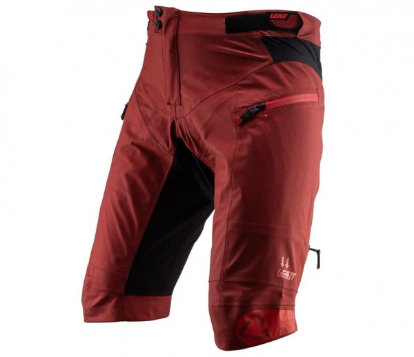 Leatt DBX 5.0 Shorts All Mountain wasserdicht ruby