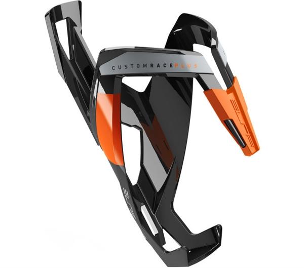 Elite Custom Race Plus bottle holder Fluo black/orange shine