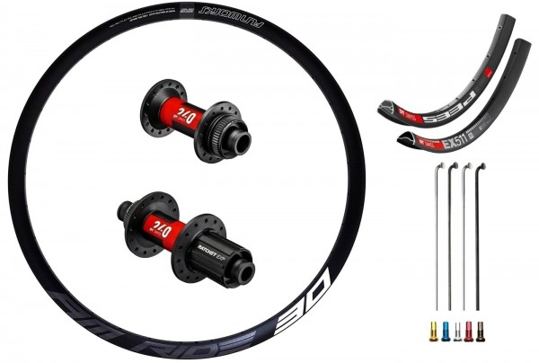 "DT Swiss 240 EXP Boost Disc CL Custom Wheelset MTB 27,5"""