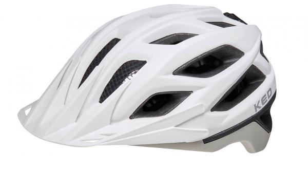 KED Companion MTB Helm white ash matt