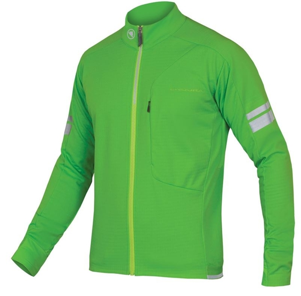 Endura Windchill Jacket neon-green