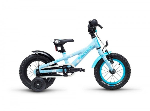 S´COOL faXe 12 Aluminium 1-speed lightblue reflex