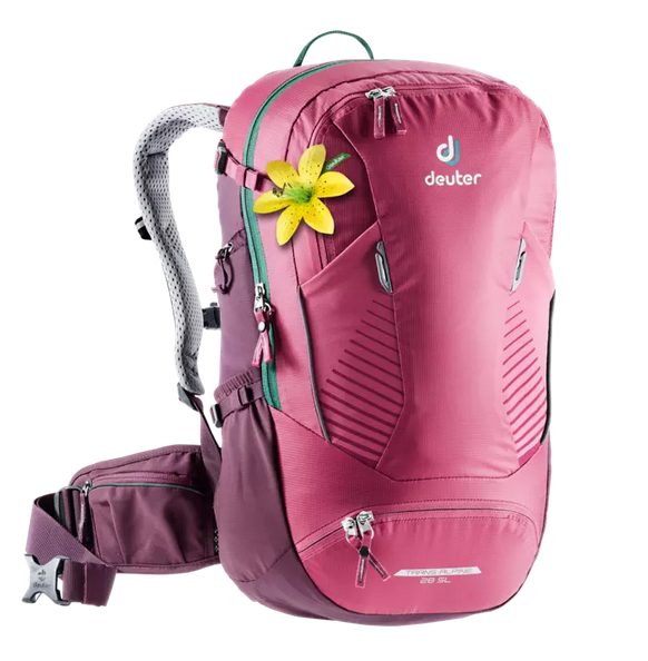 Deuter Trans Alpine 28 SL ruby-blackberry