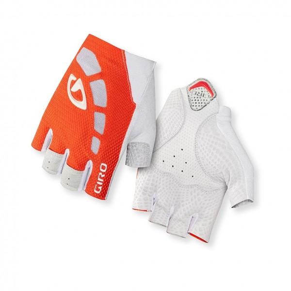 GIRO Zero glove 2014 flourescent orange/white