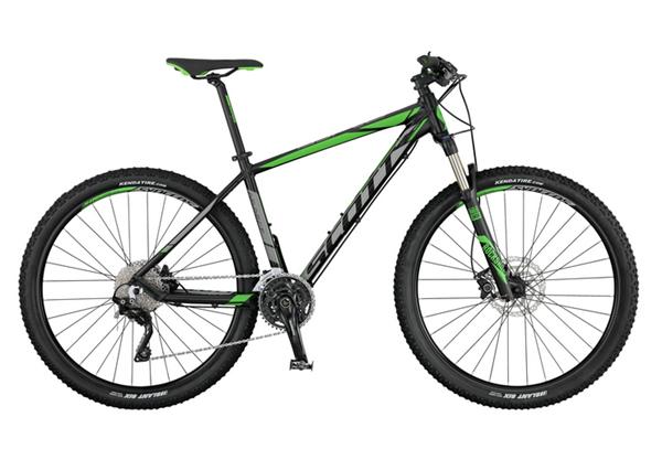 Scott Bike Aspect 910 2017 schwarz / grau / grün