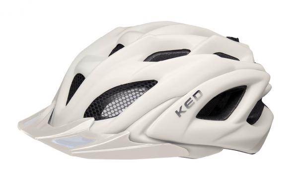KED Neo Visor XL MTB Helm ash light matt