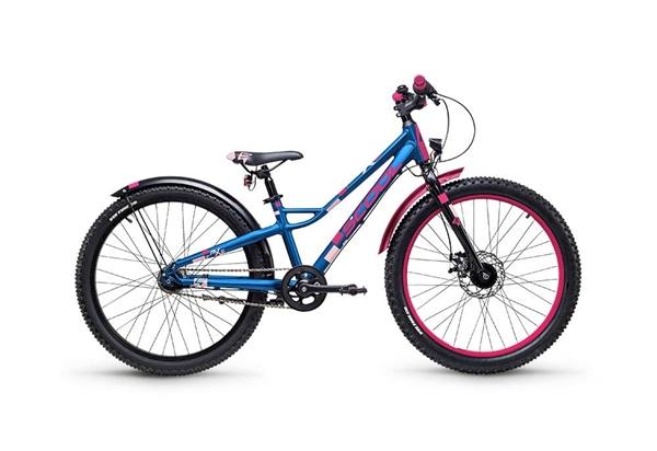 S´COOL faXe 24 Aluminium 7-Gang blue/pink matt