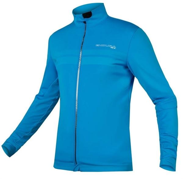 Endura Pro SL Thermal Windproof Jacket II hi-viz blau
