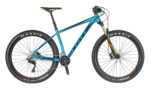 Scott Scale 720 blau/schwarz/orange