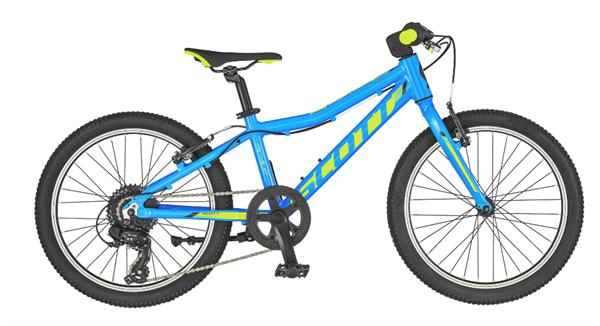 Scott Bike Scale 20 with rigid fork blue/green 2019 children's bike