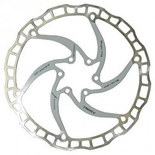 Ashima Ultralight ARO-08 Disc Brake Rotor white
