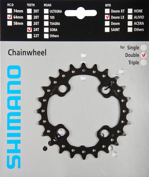 Shimano SLX FC-M675 Chainwheels 24 / 26 / 28
