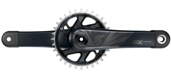 Sram GX Eagle™ DUB Carbon Crank-Set Boost 1x12-fach - 32T DM, 175mm