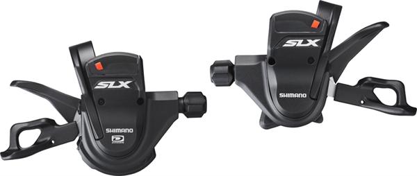 Shimano SLX Rapidfire Plus Schalthebel SL-M670 2/3x10-fach mit Ganganzeige