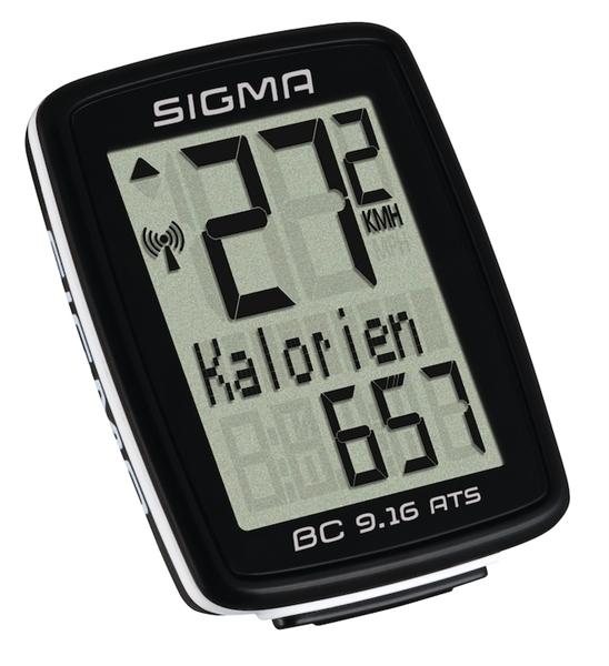Sigma Fahrradcomputer BC 9.16 ATS schwarz