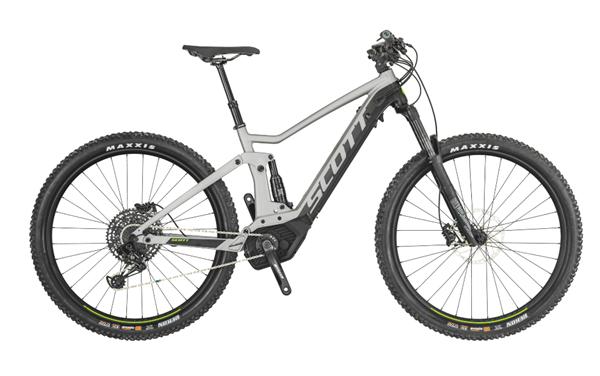 Scott Bike Strike eRide 730 grey/black 2019
