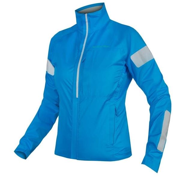 Endura WMS Urban Luminite Jacke Damen hi-viz blau