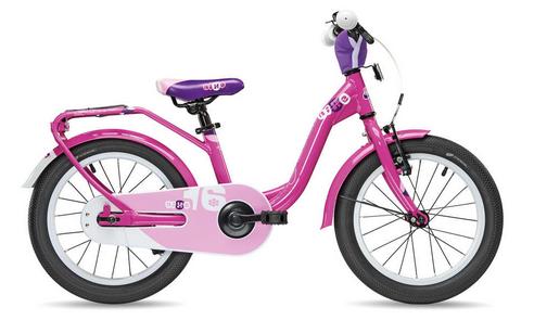 S´COOL niXe 16 Aluminium 1-Gang pink