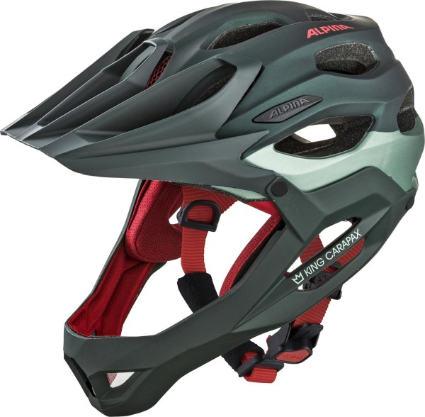 Alpina King Carapax Helm seamoss