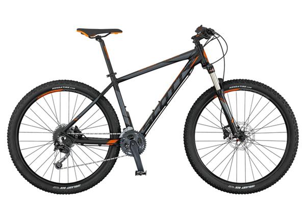 Scott Bike Aspect 930 2017 schwarz / grau / orange