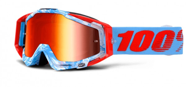 100% Racecraft Goggle Bobora - mirror lense