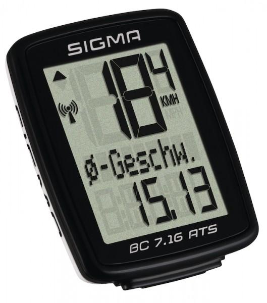 Sigma bike computer BC 7.16 ATS black