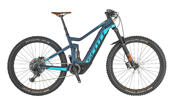 Scott Genius eRide 920 blue