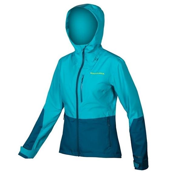 Endura WMS Singletrack Jacket waterproof kingfisher