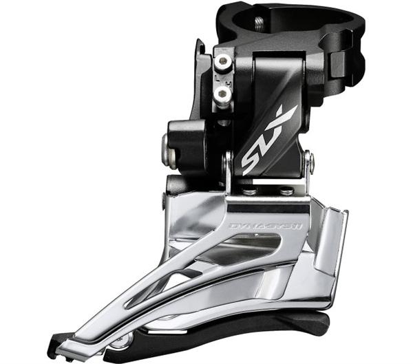 Shimano SLX Umwerfer FD-M7025 2x11 Down swing, Schellenmontage hoch
