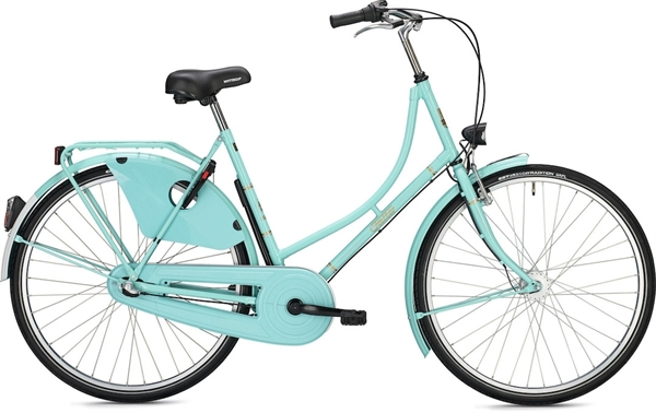 "Falter Classic Bike H 1.0 28 ""glossy turquoise"