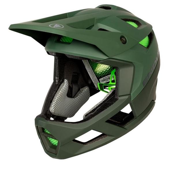 Endura MT500 Fullface Helmet forest green