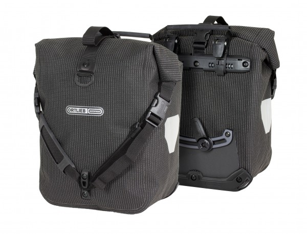 Ortlieb Sport-Roller High Visibility QL2.1 black reflex