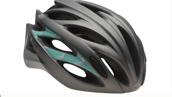 Bell Endeavor Helm matte gunmetal dark mint shimmer