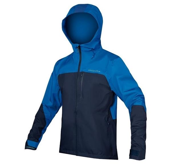 Endura Singletrack Jacket wasserdicht marineblau