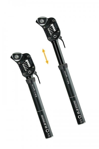 by.schulz seatpost D.2ST Ro lowered sprung medium 60-85 kg, Travel 100 mm 30.9 mm 439 mm