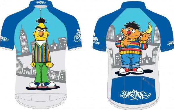 Biketags Radtrikot Sesamstraße Ernie & Bert