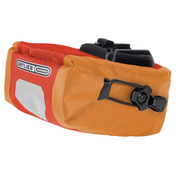 Ortlieb Saddle-Bag Micro Two 0,8L signal red-orange