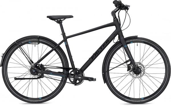 "Falter City / Urbanbike U 7.0 Men's M (48) 28 ""Black Matt"