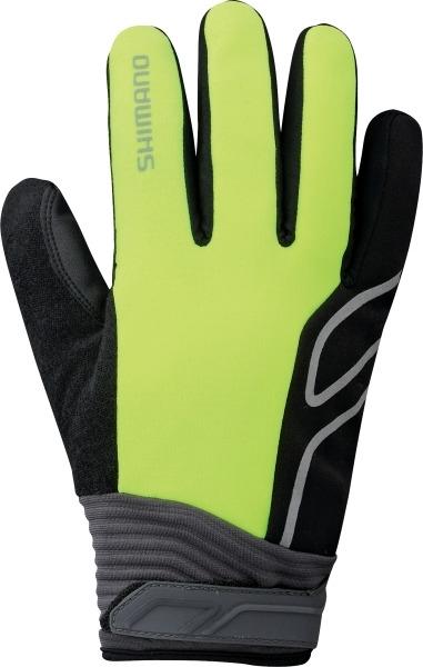 Shimano High-Visible Handschuhe neon gelb %