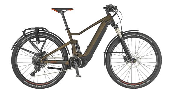 Scott Bike Axis eRide EVO braun/schwarz 2019