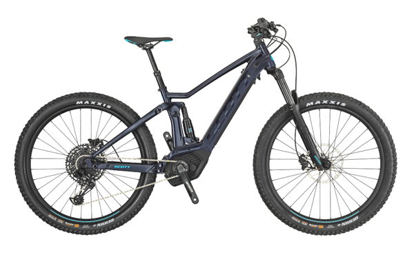 Scott Bike Contessa Strike eRide 720 schwarz/türkis Damen 2019